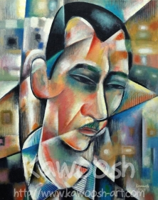 Portrait of Badr Shakir Alsayyab, 2007